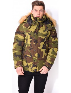 Doudoune homme camouflage