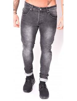 Jeans Project X gris délavé