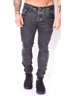 Jeans Project X noir délavé
