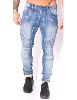 Jeans Project X motard déchiré