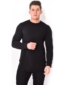 T-shirt oversize molletonné
