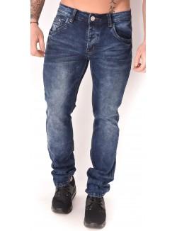 Jeans homme bleu délavé