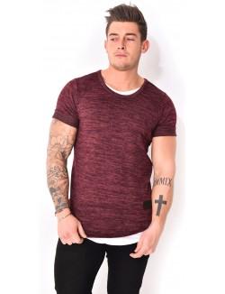 T-shirt Celebry-tees oversize chiné