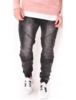 Jeans homme esprit motard
