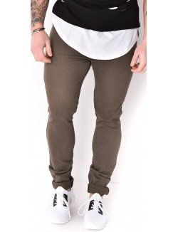 Jeans homme kaki