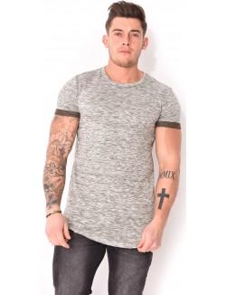 T-shirt homme chiné