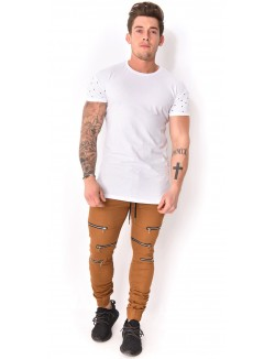 Jogg-jeans John H à zips