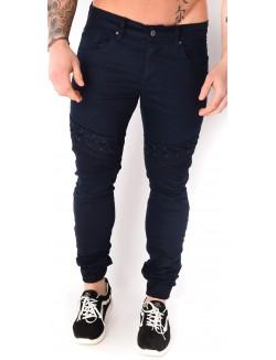 Jeans Project X motard lacé