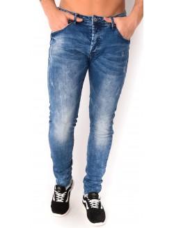 Jeans Project X skinny délavé