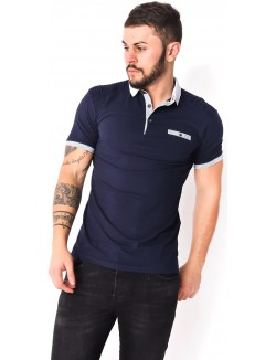 Polo homme slim-fit