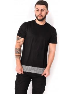 T-shirt oversize en suédine