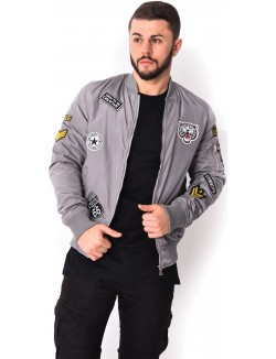 Bombers Gov Denim à patchs