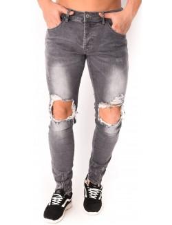 Jeans Projet X déchiré à zips