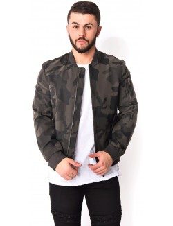 Bombers homme camou