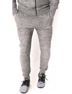 Jogging homme gris chiné