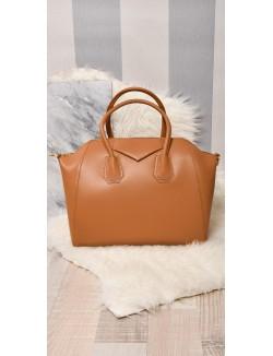 Grand sac en cuir véritable
