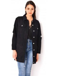 veste femme pas cher courte et longue jeans industry. Black Bedroom Furniture Sets. Home Design Ideas