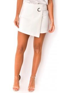 Jupe-short taille haute
