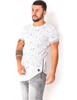 T-shirt à fermeture sur le côté
