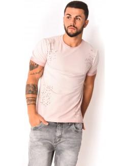 T-shirt homme troué