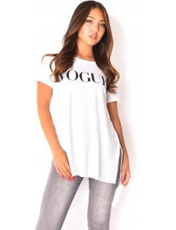 """T-shirt oversize """"Vogue"""""""