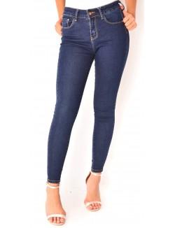 Jeans skinny bleu brut
