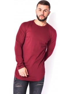 T-shirt manches longues slim
