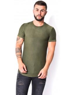 Tee-shirt manches courtes chiné