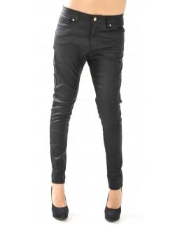 Pantalon sarouel huilé noir