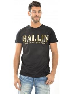 T-shirt homme Criminal Damage Ballin' en mesh