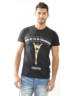 T-shirt homme Criminal Damage Champagne
