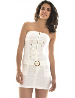 Robe bustier officier