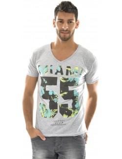 T-shirt homme Celebry Tees Miami Fleuri