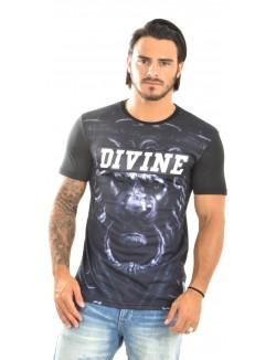 T-shirt homme Divine Trash lion God