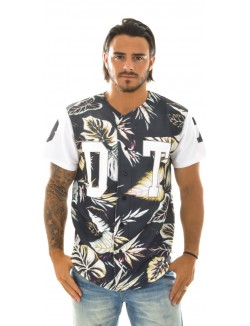 Veste homme Baseball Tropical White
