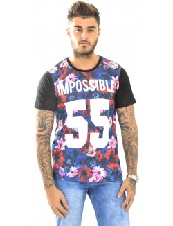 T-shirt homme Celebry-Tees Impossible 55
