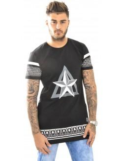 T-shirt homme Celebry-Tees oversize à étoiles
