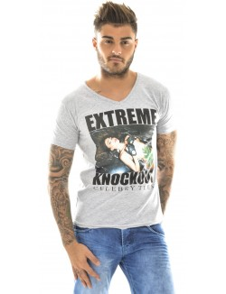 T-shirt homme Celebry-Tees Extreme Knockout