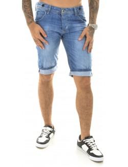 Bermuda homme en jeans