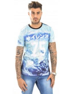 T-shirt homme Gov Denim Nuage