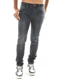 Jeans skinny Gov Denim noir délavé