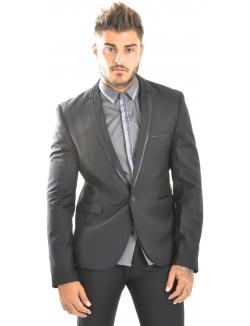 Veste de costume homme Ross Carra à bordures contrastantes