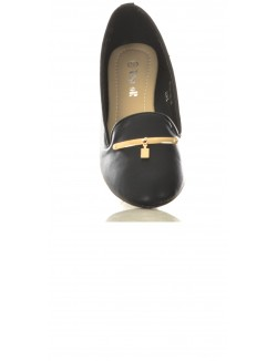 Ballerines en simili-cuir