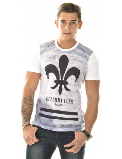 T-shirt Celebry-Tees à nuages