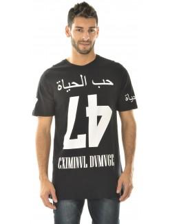 T-shirt Criminal Damage Love Life Tee