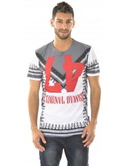 T-shirt Criminal Damage Dashiki Tee