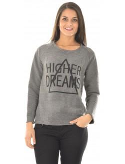 T-shirt matelassé Higher Dreams