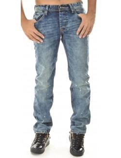 Jeans homme Project X délavé