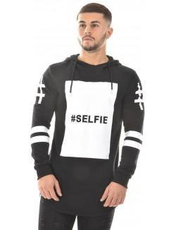 Sweat homme Gov Denim oversize Selfie