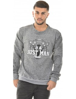 Sweat homme tigre Just Man